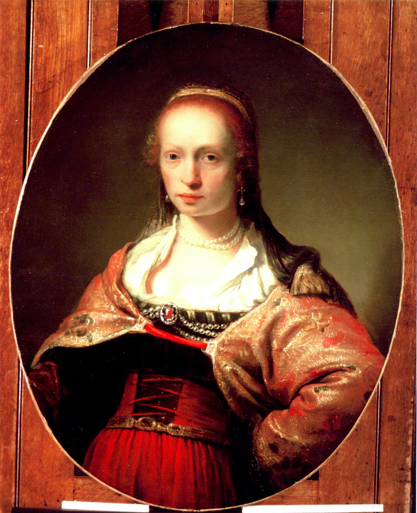 'Portrait of a young woman'
